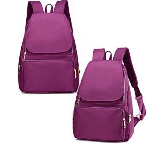 Ladies shoulder bags,borsa di tela,borsa da viaggio,scuola borse-porpora porpora