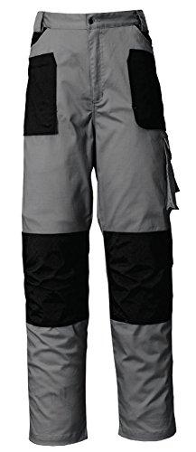 Industrial Starter - Pantaloni 8730 Issa Line Stretch Grigio/Nero Taglia S
