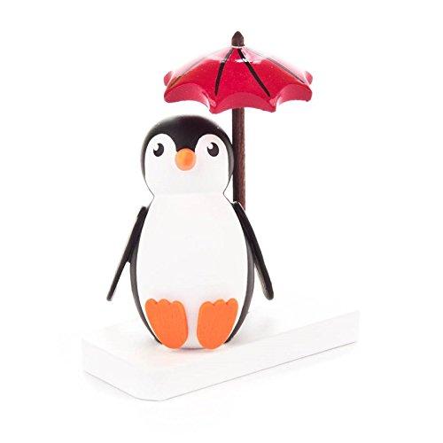 Miniatur-Pinguin Faulpelz - Dregeno Erzgebirgische Holzkunst - Artikel 159/025