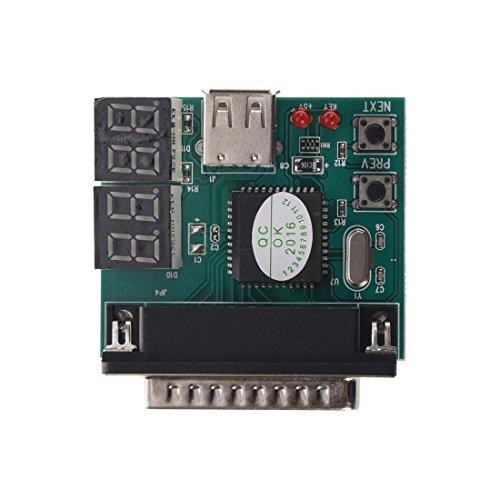 SODIAL (R) Laptop PC Computer Motherboard PCI Diagnose Tester Analyzer