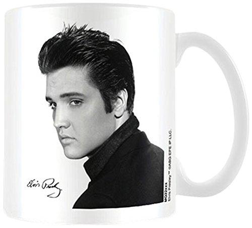 Elvis Portrait Keramik-Tasse in Geschenkbox (Portrait-top)