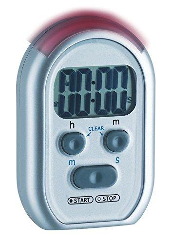 TFA Shake Awake Avisador Digital Cocina 1 Tiempo Gris