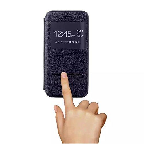 """inShang Hülle für Apple iphone 6 4.7 inch iPhone6 4.7"""", Edles PU Leder Tasche Hülle Skins Etui Schutzhülle Ständer Smart Case Cover für iphone 6 Cell Phone, Handy , Zubehör + inShang Logo hochwertigen slide black"""