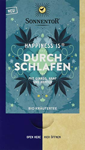 Sonnentor Bio Durchschlafen Tee Happiness is, 3er Pack (3 x 27 g)
