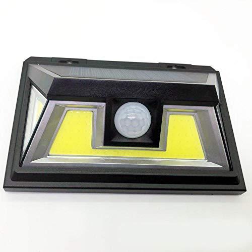 Solar Wall Light_Solar Light Outdoor / 118/136 / 180LED Wasserdichte Sensorleuchte mit vier Seitenleuchten, G