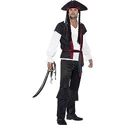 """Smiffy's-Costume da uomo """"Aye Aye da capitano dei pirati"""", Donna, taglia: M"""