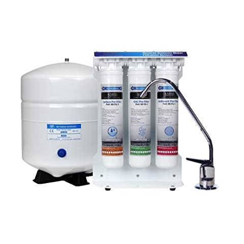 BOANN BNROSYS 5-Stage Reverse Osmosis Water Filter System with Quick-Twist Filters by BOANN