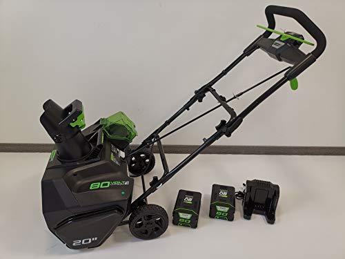 Greenworks Tools 80V Akku Schneefräse + 2x2Ah Akku + Ladegerät (2600107VC)