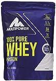Multipower 100% Pure Whey Protein, lösliches Whey Proteinpulver ohne Aspartam und Gluten, enthält essentielle Aminosäuren (BCAA), Eiweißpulver zum Backen und Kochen, Neutral, 450 g