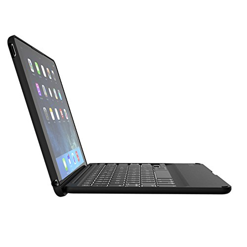 ZAGG ID6ZFK-BBN 9.7Zoll Blatt Schwarz Tablet-Schutzhülle - Tablet-Schutzhüllen (Blatt, Apple, Apple iPad Air 2, 24,6 cm (9.7 Zoll), Bluetooth, Schwarz)