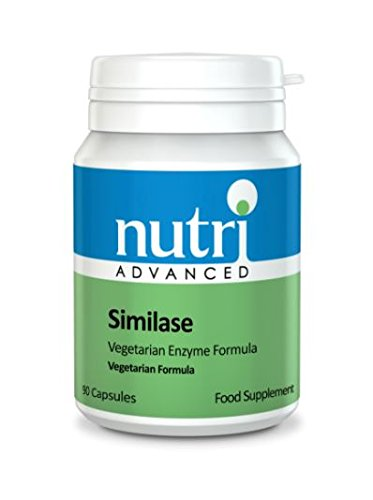 Nutri Advanced Similase Plante Enzyme Digestif Formule - 90 Capsules