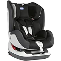 Chicco Seat Up 012 - Silla de coche Isofix para niños de 0 a 6 años (0-25 kg), grupo 0+/1/2, color rojo, gris o negro