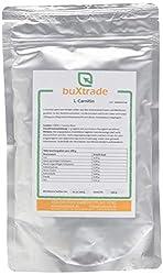 Buxtrade L-Carnitin Base 100% reines Pulver Aminosäure Energie Stoffwechsel, 1er Pack (1 x 250 g)
