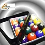 Spots And Stripes Pool Ball Set - Wit...