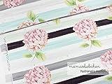 Mamasliebchen Jersey-Stoff Hydrangea #Autumn (1 Panel, ca
