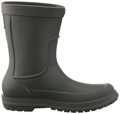 crocs Herren AllCast Rain Boot Men Gummistiefel Grün (Dusty Olive/Dusty Olive)