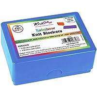 KnitPro - Bloqueadores de punto arcoíris PK20, varios colores