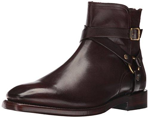 FRYE Men's Weston Cross Strap Harness Boot, 85034-Dark Brown, 8.5 D US (Herren Frye Boot Stiefel)