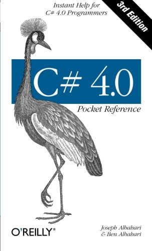 C# 4.0 Pocket Reference: Instant Help for C# 4.0 Programmers (Pocket Reference (O'Reilly)) - Sharp Pocket Computer