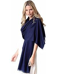 Pashmina Couture Schal 70% Kaschmir 30% Seide - 70 x 200cm - 25 Farben Kaschmirschal
