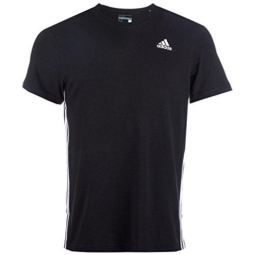 adidas Herren T-Shirt Sport Essentials Mid schwarz-weiss
