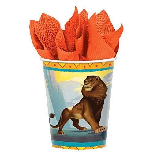 Unbekannt König der Löwen 8 Stück Pappbecher - Partybecher je 266 ml Inhalt Disney The Lion King