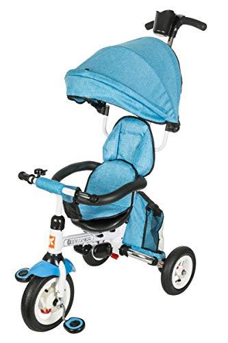 Kidz Motion Niños Tobi Alex 2 Triciclo Cochecito Gris