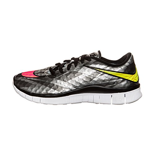 Nike  Free Hypervenom (Gs), Chaussures de football mixte enfant - chrome volt hyper pink metallic gold coin 002