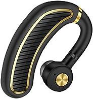 Bluetooth Headset,Wireless Bluetooth 4.1 Business Headphone Earphone 300mAh Super Long Standby Earpiece with M