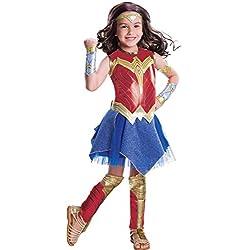 Wonder Woman Déguisement Deluxe Fille 8-10 ans