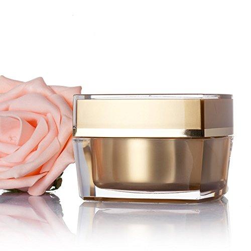 Bluelover Acrylique Vide Pot Cosmétique Facial Crème Récipient Caisse Maquillage Outil Voyage Bouteilles Rechargeables - 30G