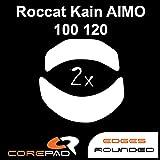 Corepad Skatez Pro 169 Patins Teflon Souris Pieds pour Roccat Kain AIMO 100 / Kain AIMO 120