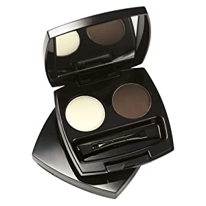 Avon Perfect Eyebrow Kit [wax powder and brush] in soft brown