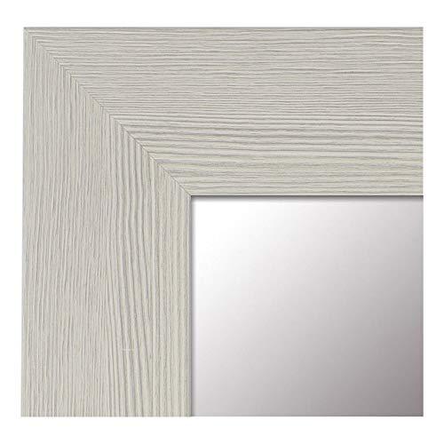 -Espejo Fabricado en España- tamaño 65x165 cm. Espejo Decorativo de Pared Modelo 187 Perla, Ideal...