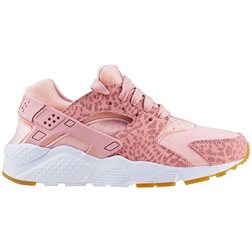 Nike Huarache Run Se (GS), Zapatillas de Running para Mujer, Multicolor (Coral...