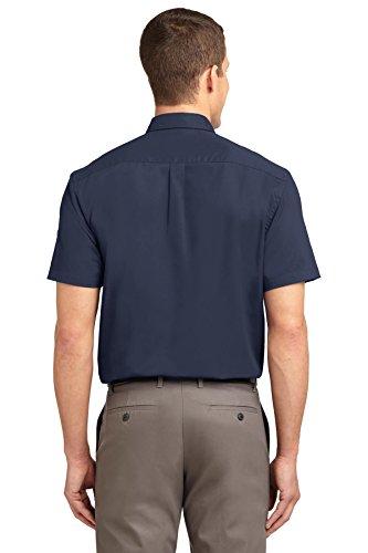Port Authority Herren Poloshirt Blau - Navy/Light Stone
