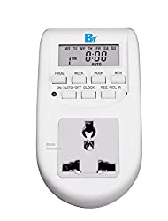 Blackt Electrotech: 230 Volt Digital Programmable Timer Electronic Timer (24x7): Energy Saving Socket