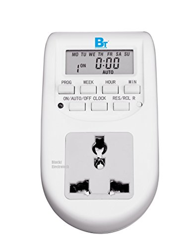 Blackt Electrotech: 230 Volt Digital Programmable Timer Electronic Timer (24x7): Energy Saving...