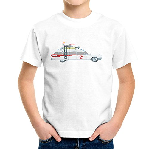 ecto-1-pixel-car-ghostbusters-1984-cadillac-kids-t-shirt