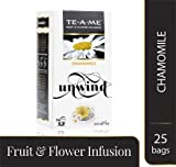 #7: TE-A-ME Chamomile Infusion Tea Bags (Pack of 25)