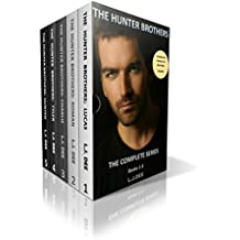 The Hunter Brothers: Lucas. Roman. Charlie. Tyler. Hunted: The Complete Erotic Romance Series (English Edition)
