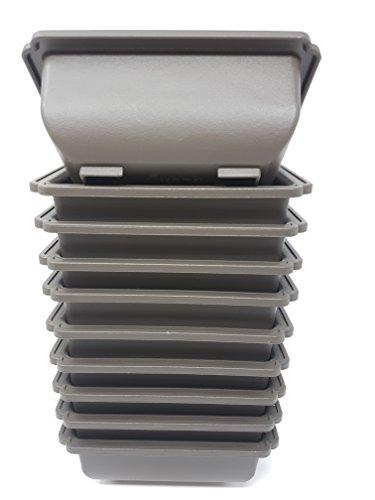 10 vasi in plastica per bonsai da 13cm