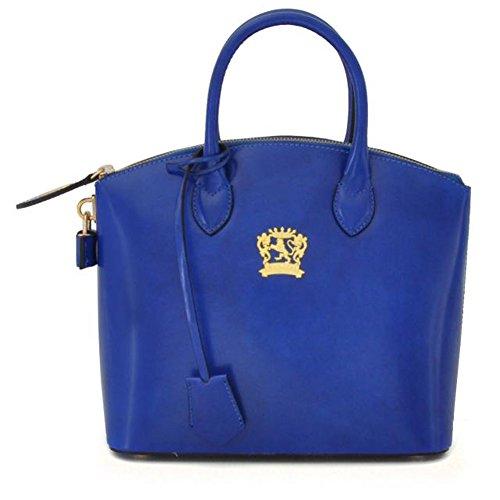 Pratesi Versilia R petit sac - R348/P Radica (Noir) Bleu électrique