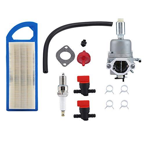 Lecxin Filtro de Aire del carburador del carburador para Briggs Stratton 594593 591731 796109 14.5 - Piezas de la segadora de césped 21HP