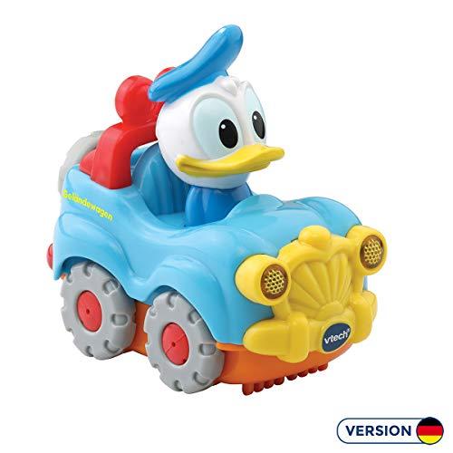 Vtech 80-511504 TUT Baby Donalds Gelaendewagen Flitzer Fahrzeuge Babyauto, Multicolour