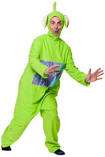 Joker j507-001 teletubbies dipsy adulto costume di carnevale, in busta, verde