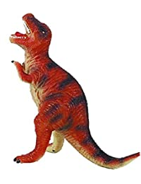 SuperToy(TM) Relastic Squeezable Big Stegosaurus Dinosaur Toy With Real Sound For Kids (Relastic Look Large Flexible...