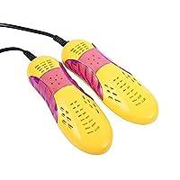 JYHEA Plug Race Car Shape Violet Light Shoe Dryer, Protector Odor Deodorant Dehumidify Device Shoes Drier Machine Heater