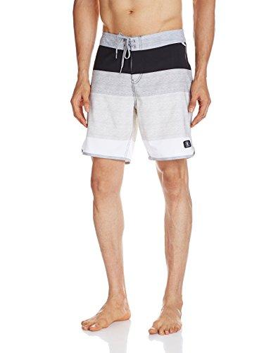 DC Herren-Badeshorts 18 SLE1 Boardshorts, Grau, Größe 30, Herren, grau, 38