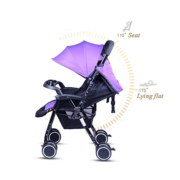 Meen Twin Baby Stroller, Portable and Easy to Fold Can Sit Reclining Detachable Ultra Light Shock Baby Umbrella (Color : Blue) Meen * EASY TO FOLD: It can be used in one-button car collection, easy to handle all kinds of occasions, save space, easy to carry, easy and labor-saving * SAFETY SYSTEM: Baby stroller adopts 5-point safety belt, high quality design is safer, and 5-point structure is safer * ADJUSTABLE BACKREST - The stroller backrest can be adjusted at any angle, and the pedal can be adjusted according to the baby's needs, giving the baby a more comfortable experience 4